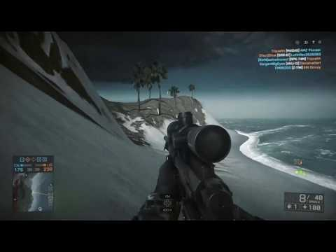 Battlefield 4 Sniping Spot, Hidden Island on Paracel Storm