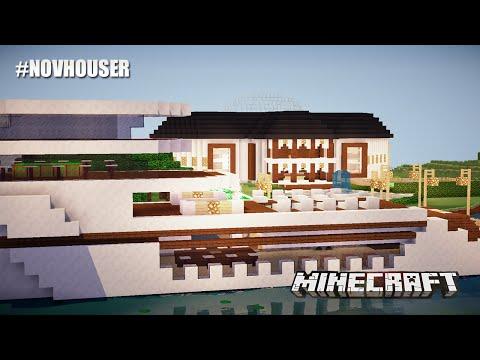 Minecraft casa de lujo y funcional hecha por kevin doovi for Minecraft casas de lujo