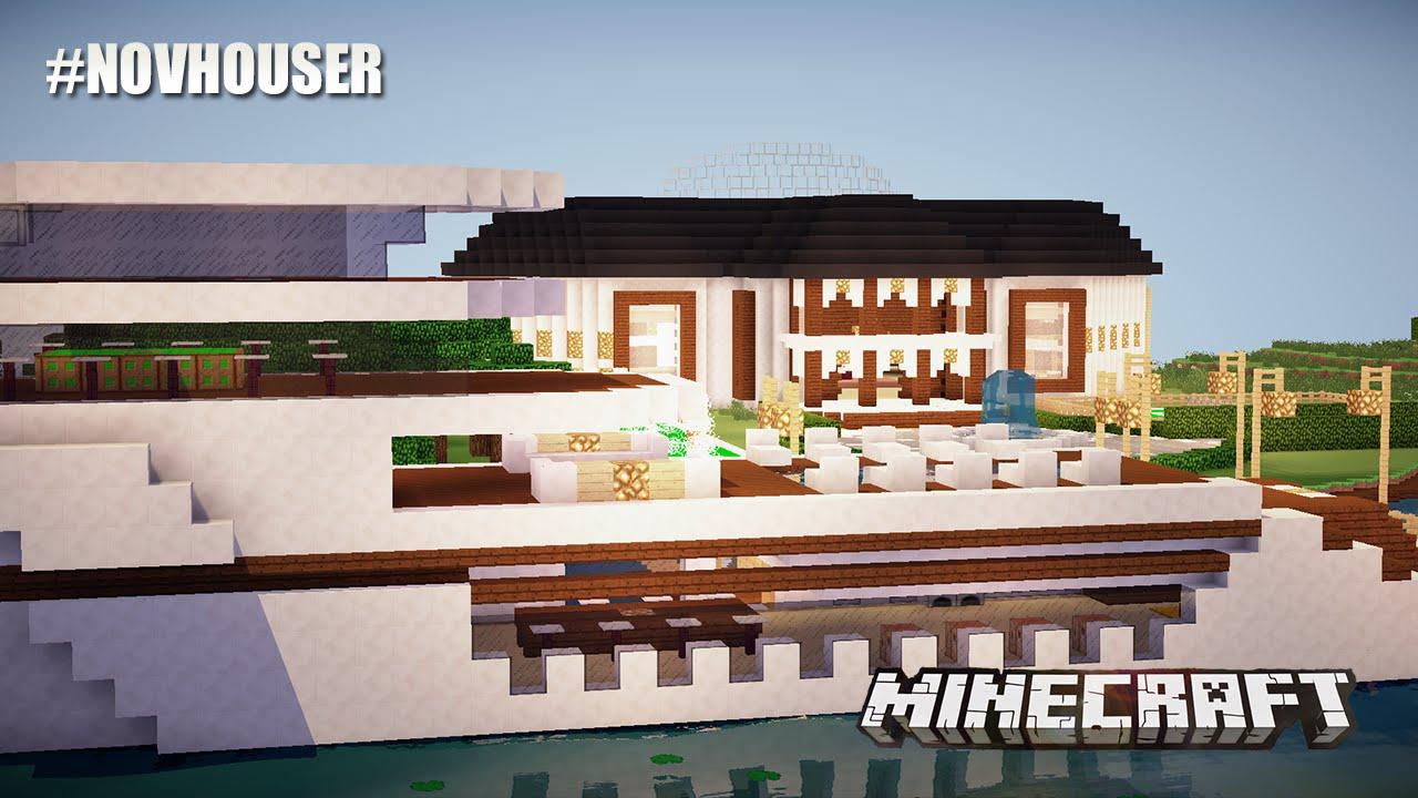 El lujo peculiar de esta mansi n casas de minecraft en for Minecraft casas de lujo