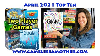 Game Like a Mother Top Ten April 2021: 2 Player Games