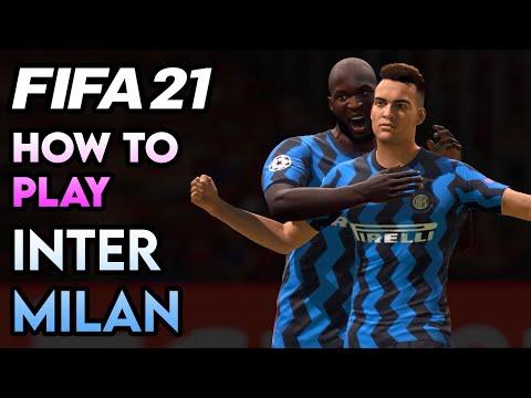 FIFA 21 Tactics: How to Play Inter Milan