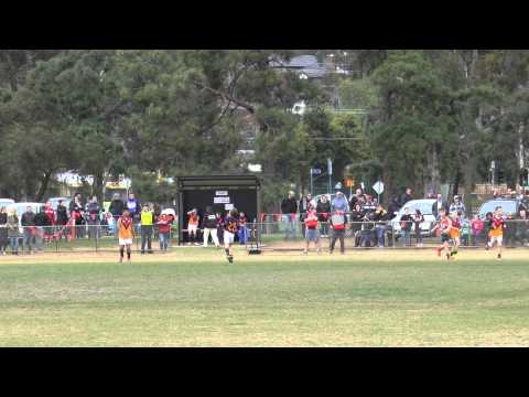Keilor Park U 10 Footie Final 2015