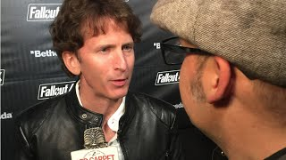 Todd Howard #Fallout Director at the Launch Party for Fallout 4 #fallout4party #welcomehome