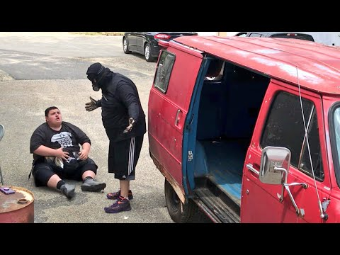 SECURITY CAM SHOWS GRIM IN THE VAN?  GTS Wrestling SUPERCARD EVENT