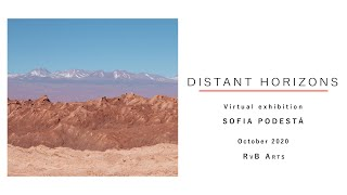 RvB ARTS | Virtual show by SOFIA PODESTÁ | DISTANT HORIZONS