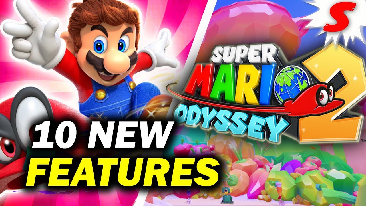 10 New Features That Should Be In Super Mario Odyssey 2 Siiroth