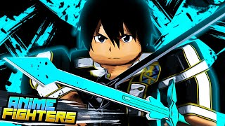 Getting *NEW* OP units from SAO UPDATE on Anime Fighters   Roblox