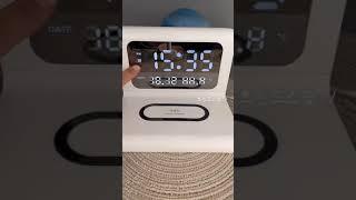 탁상시계 기능이 있는 무선충전기 (구매좌표는 고정댓글확…