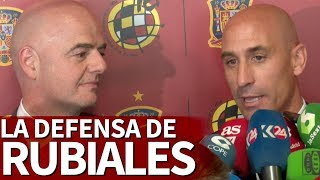 Luis Rubiales y la denuncia de Galán: