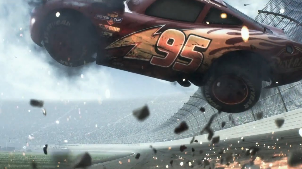 Cars 3 Watch Lightning Mcqueen Crash Out In New Trailer Youtube