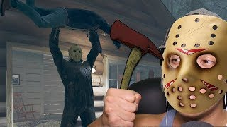 O JASONOT NÃO PERDOA - Friday the 13th The Game