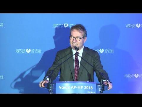 Vœux de l'AP-HP 2018 : discours de Martin Hirsch