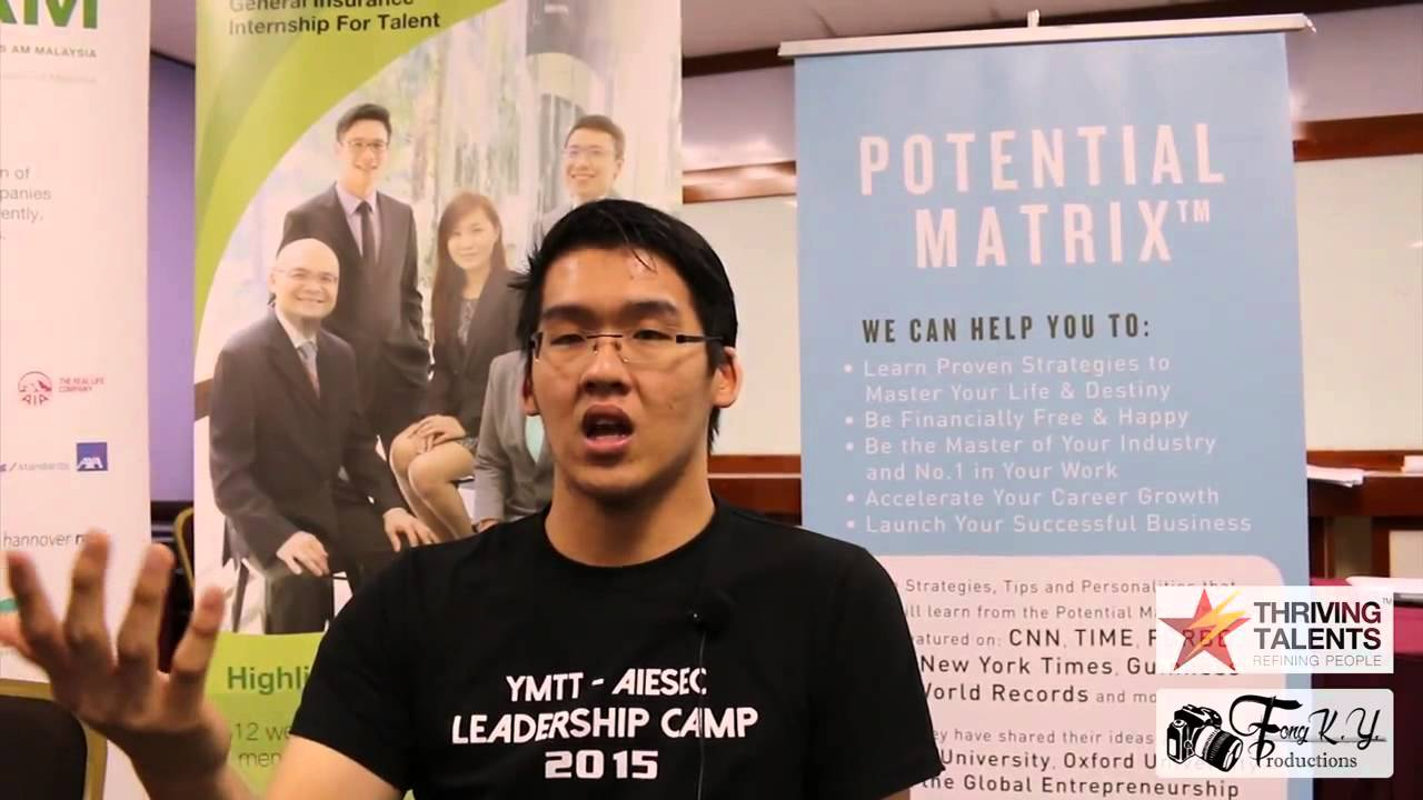 Aiesec Hannover aiesec national leader on thriving talents training for gen y insurance  leaders