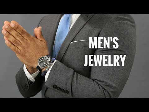 How Men Should Wear Jewelry