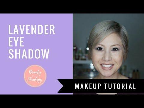 Lavender Eye Makeup Tutorial & Contouring in Black!