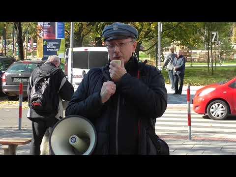 Kraków: Manifestacja przeciw bezprawiu w wymiarze sprawiedliwości