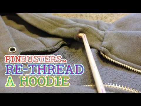 c10cc27500d1 Re-thread A Hoodie Drawstring With A Straw    DOES IT WORK  - YouTube