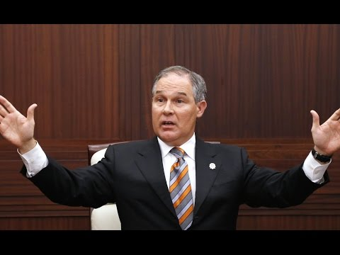 Trump Puts Fossil Fuel Shill In Charge Of EPA