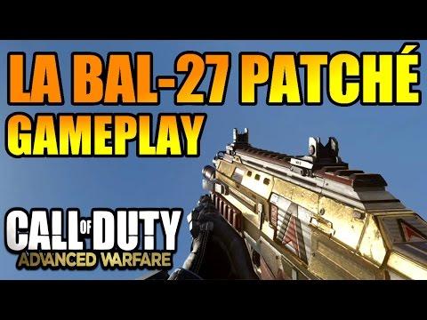 Advanced Warfare : La BAL-27 patché ! Gameplay