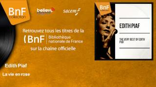 Edith Piaf - La vie en rose - feat. Guy Luipaerts Et Son Orchestre