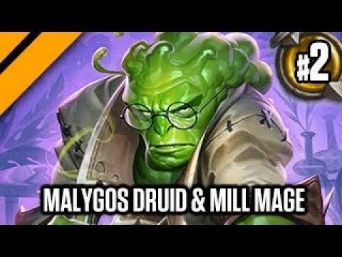 Hearthstone: Boomsday - Malygos Druid & Control Mill Mage P2