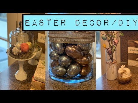 DIY Easter Decor/DIY Spring Decor/Dollar Tree DIY/Budget Decor