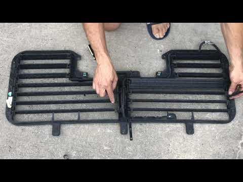 Download GM Silverado Sierra grill shutters mod