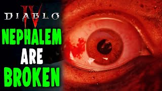 Diablo 4: Are the Nephalem TOO OVERPOWERED & Broken for Diablo 4?