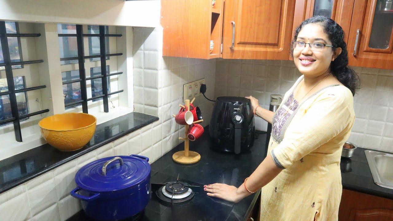 Vlog ആദ യമ യ Air Fryer ഉപയ ഗ ച ചപ പ ൾ Air Fryer Chicken65 Anu S Kitchen Youtube