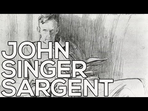 John Singer Sargent: A collection of 32 sketches (HD)