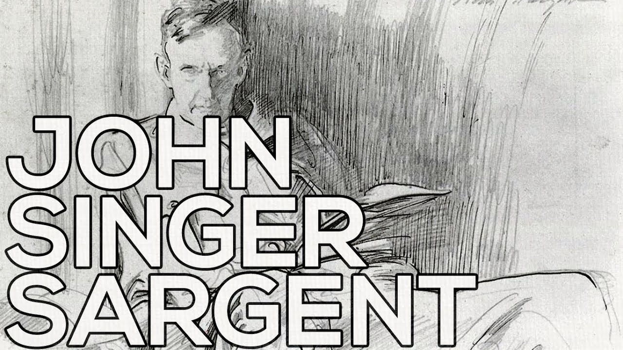 john singer sargent a collection of 32 sketches hd youtube