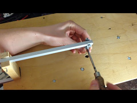 Самодельный лобзиковый станок электролобзик своими руками 3 часть hand made jigsaw diy