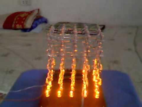 led cube 5x5x5. tặng người yêu