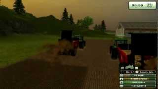 Farming Simulator 2013 Liquid manure and manure - gameplay