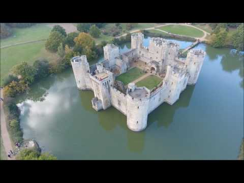 Bodiam Castle - DJI Phantom 4
