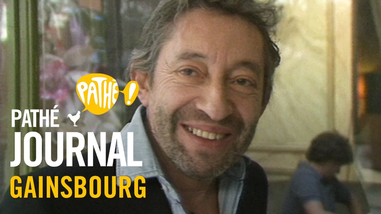 1985 : Serge Gainsbourg | Pathé Journal