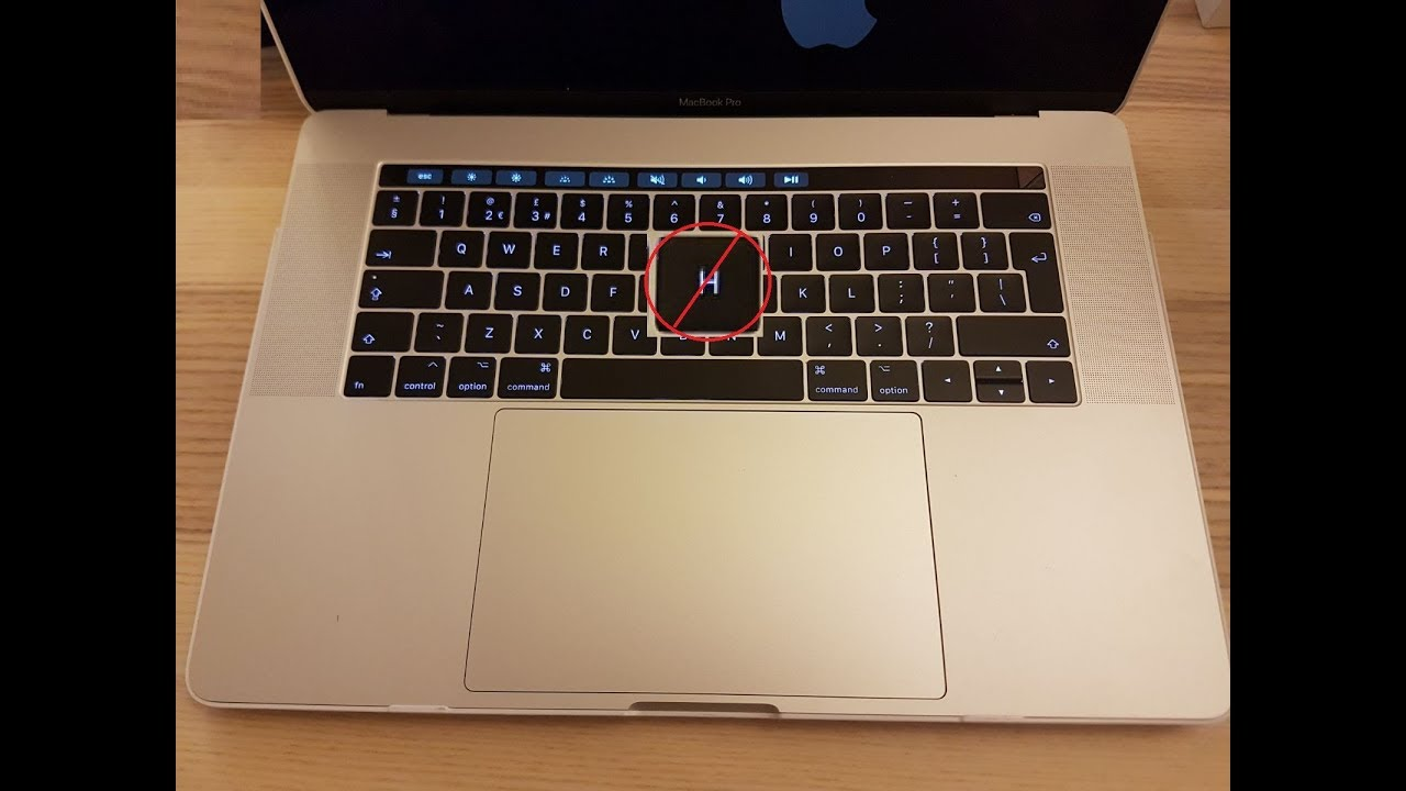 macbook keyboard not working