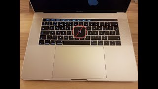 H key not working on Macbook Pro