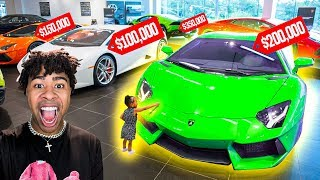 buying-everything-my-daughter-touches-challenge-my-first-lamborghini