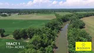 SOLD! 313+- Acres Wilson County Land For Sale By Auction Near Neodesha, Kansas