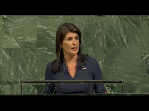 Haley Commemorates Victims of the Transatlantic Slave Trade