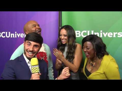 David Alan Grier, Amber Stevens West & Loretta Devine  Summer NBC Press Day