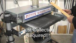 SOLD**Used Performax Dual Drum Sander, US0328