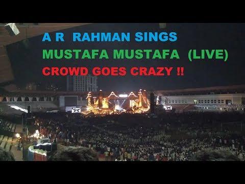 Crowd went MAD for Mustafa Mustafa A R Rahman Encore Hyderabad