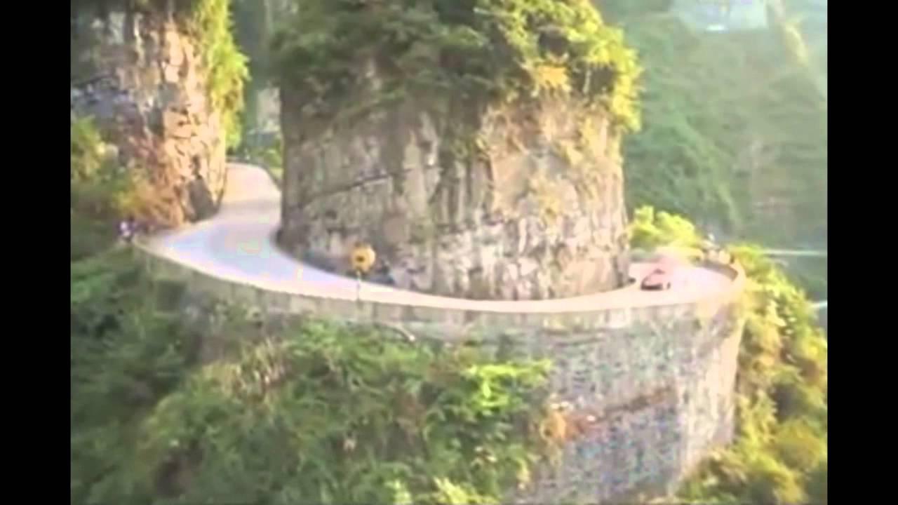 le circuit automobile le plus dangereux au monde en chine
