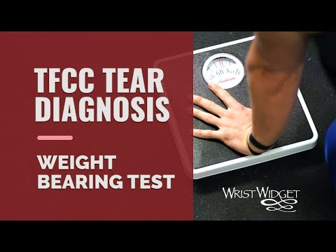 How to diagnose TFCC tears & Ulna-sided wrist pain with a quick and easy Weight (Load) Bearing Test