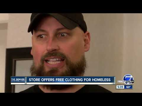 No cash register here: Boutique store for those in need opens in Denver