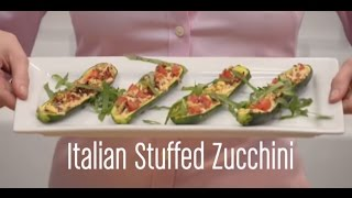Summer Recipe: Vegan Italian Stuffed Courgettes