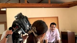 10月27日の5:30からNIB長崎国際テレビで放映されるニュース・エブリィ報道部の8時間に及ぶ取材風景の一コマ。それを追っかけるユーチューブ取材...