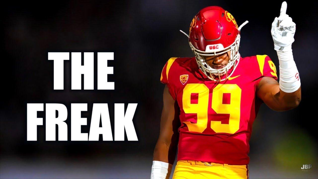 """The FREAK"" 😈    USC DE Drake Jackson Highlights ᴴᴰ"